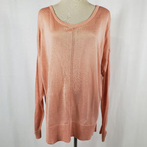 Salmon Oversized Sweater Altar'd State